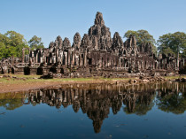 Temple Bayon - Cambodge