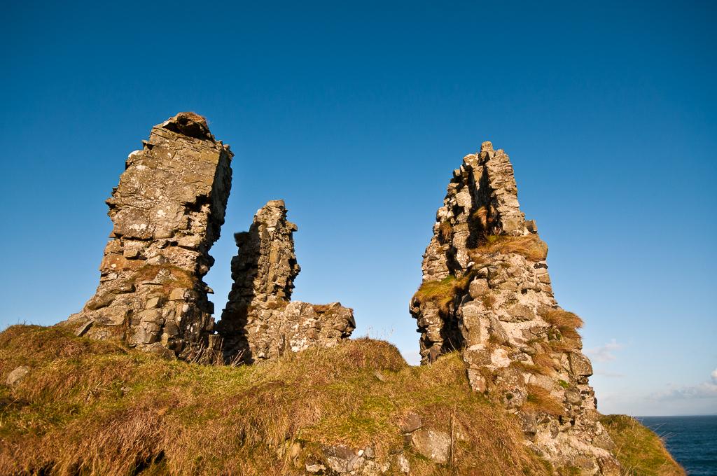 Dunseverick Castle - Irlande du Nord