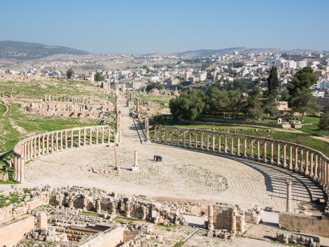Jerash - Jordanie