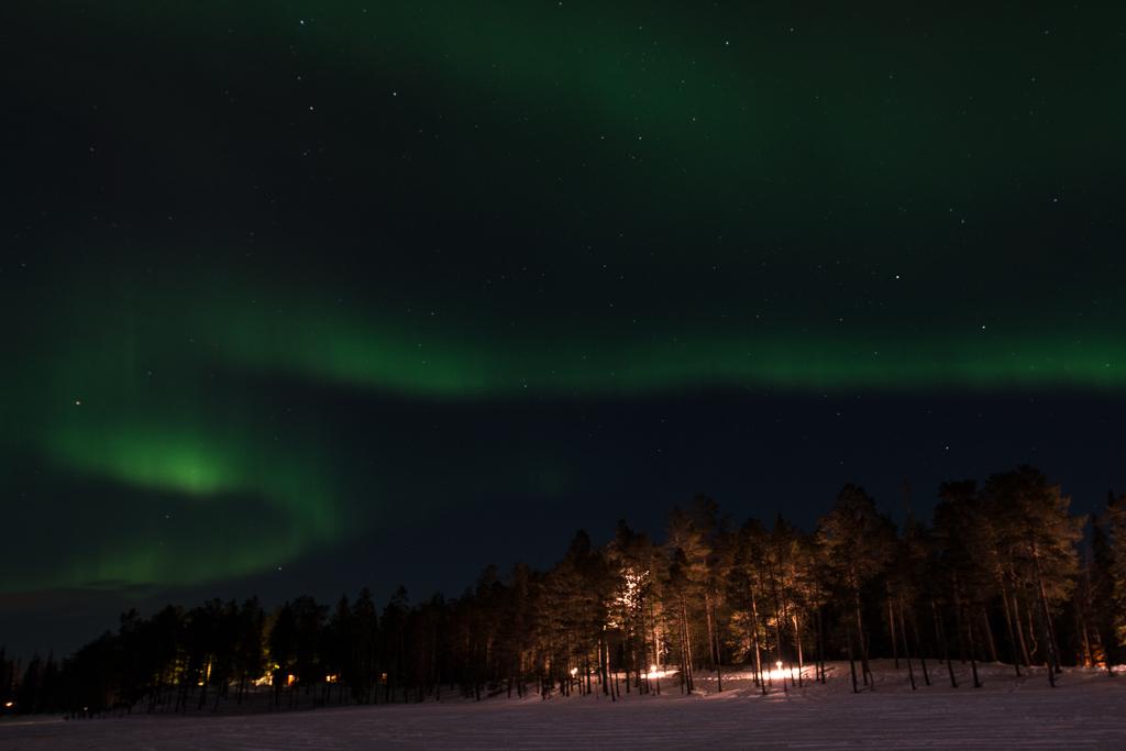 Aurore Boréale à Luosto - Laponie (Finlande)