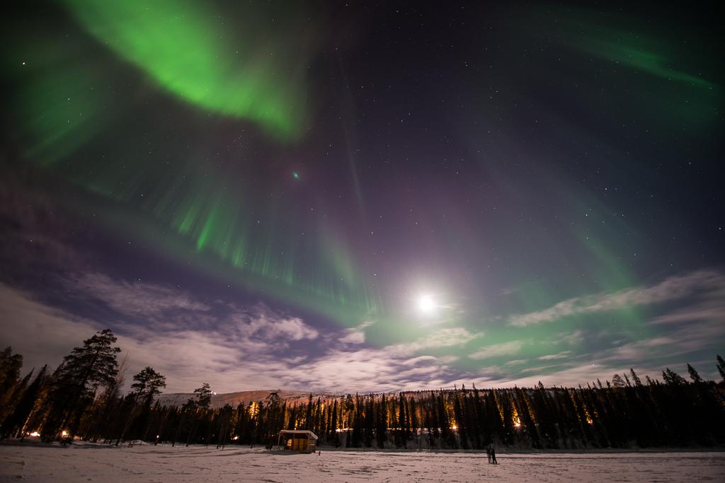 laponie aurores bor ales sur le cercle arctique. Black Bedroom Furniture Sets. Home Design Ideas