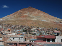 Le Cerro Rico à Potosi - Bolivie