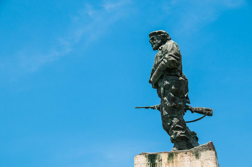 Statue de Che Guevara à Santa Clara - Cuba