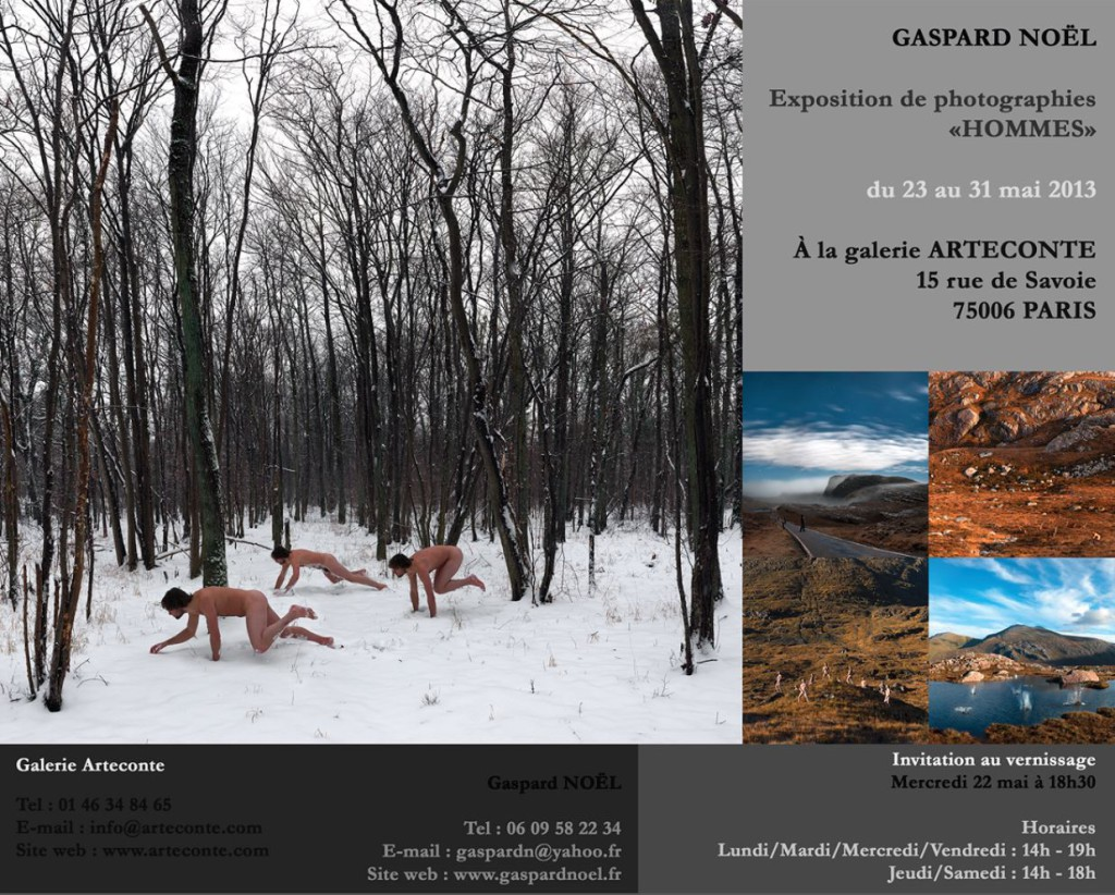 "Gaspard Noel - Exposition ""Hommes"""