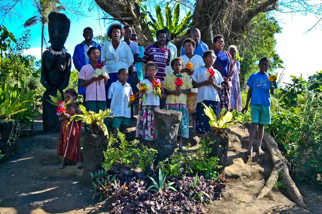 Chorale à Tanna - Vanuatu