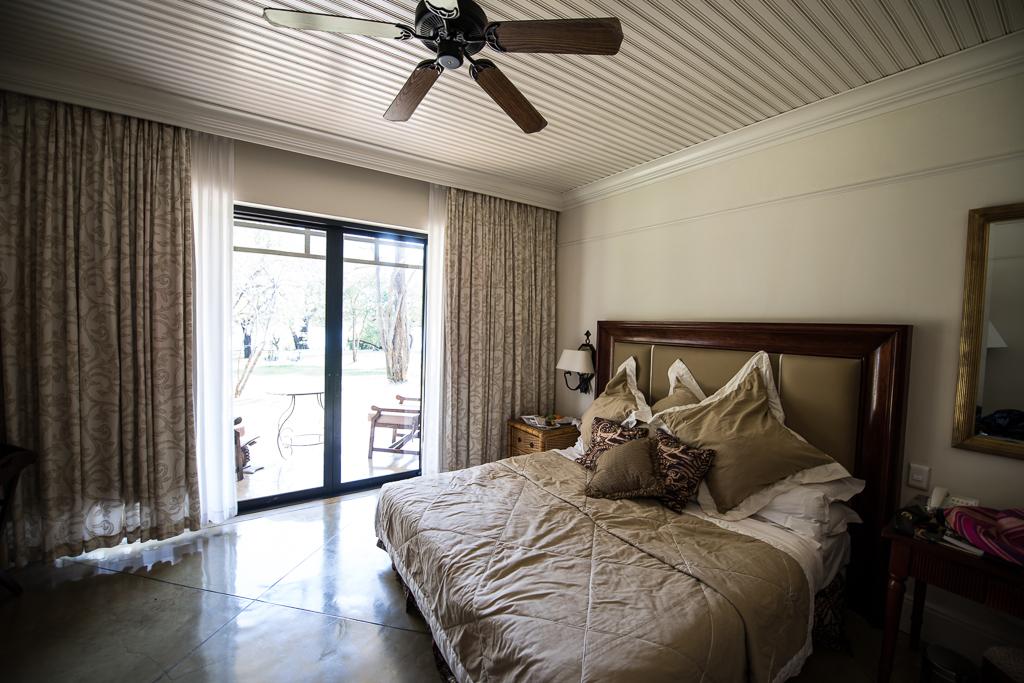 Chambre du Royal Livingstone Hotel - Chutes Victoria (Zambie)