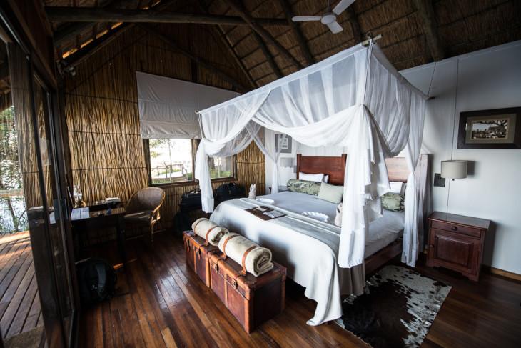 Xugana Island Lodge - Chambre