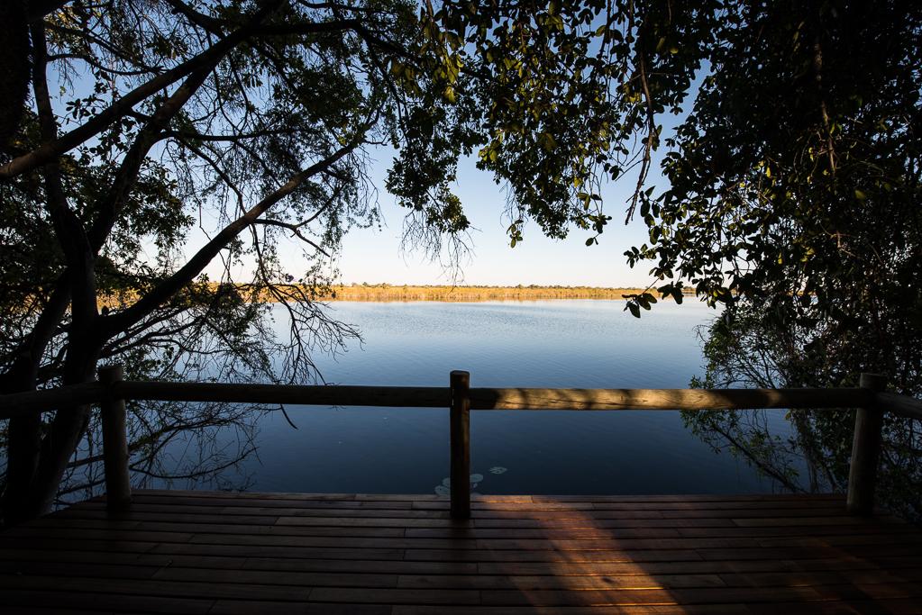 Xugana Island Lodge - Terrasse