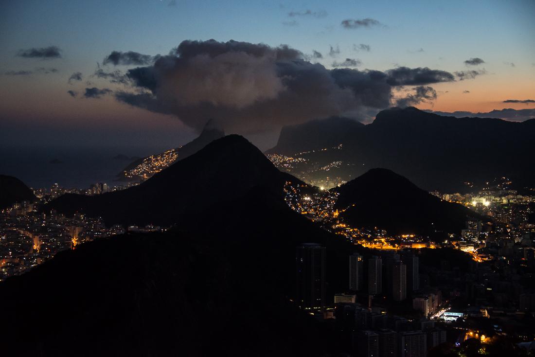 Rio de janeiro de nuit