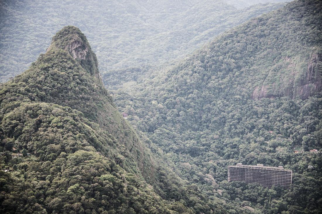 immeuble forêt de Tijuca