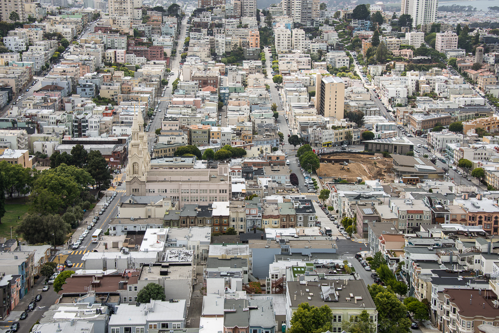 San Francisco Coit Tower View