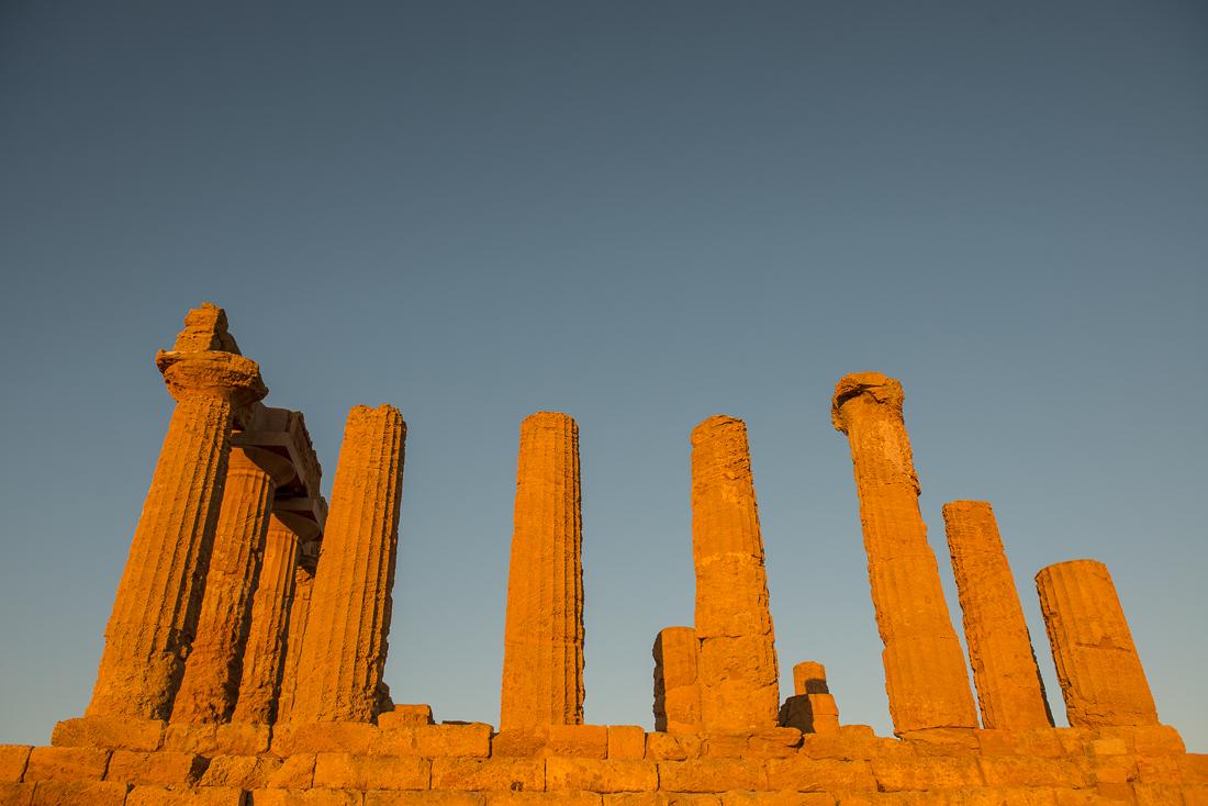 temple hera agrigente sicile