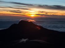 mont mawenzi lever de soleil