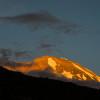 Kilimandjaro – coucher de soleil