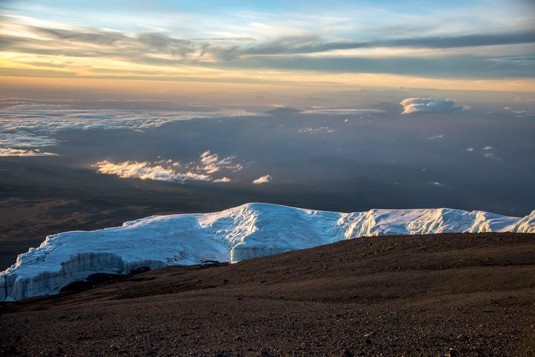 glaciers kilimandjaro