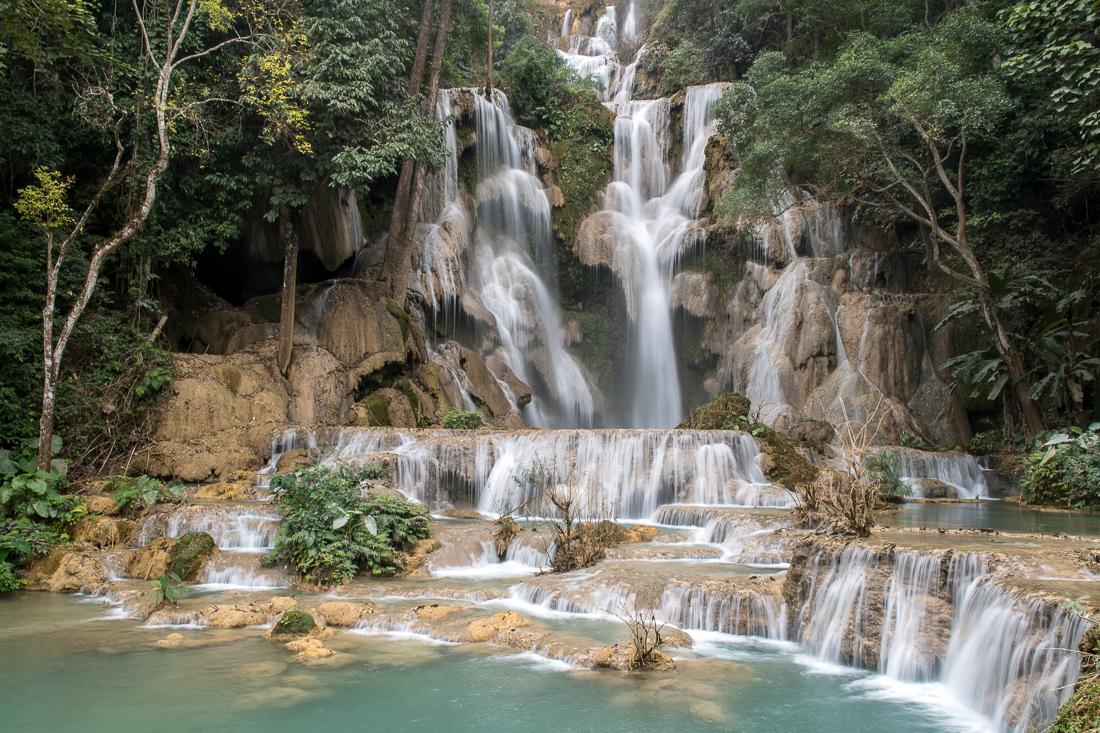 laos cascade tad kouang si