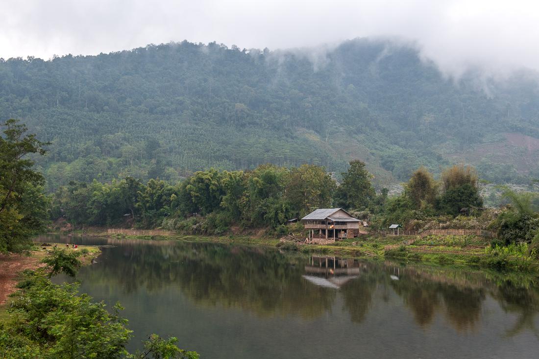 laos nam pak rivière muang la